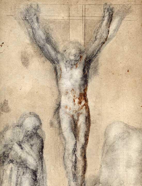 michelangelo-buonarroti-crocifissione-con-maria-e-san-giovanni
